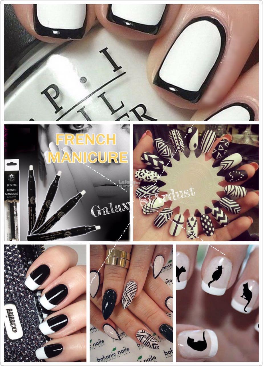 Nail Art Penfrench Manicurewhite T End 3142019 448 Pm