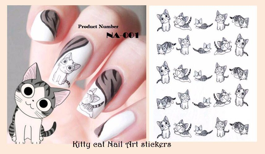 Nail Art Stickers - Cat ( DIY) (end 7/26/2019 5:15 AM)