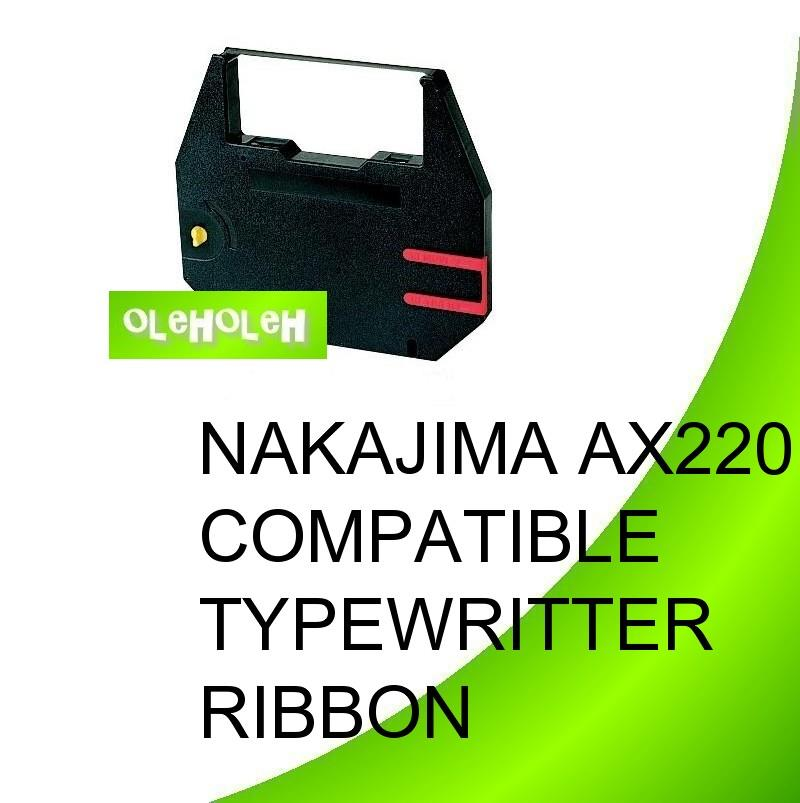 *NAKAJIMA AX220 Compatible Typewriter Ribbon