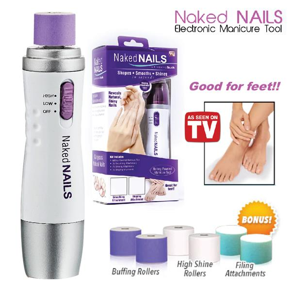 Naked Nails Electronic Nail Care/Man (end 7/4/2019 11:15 AM)