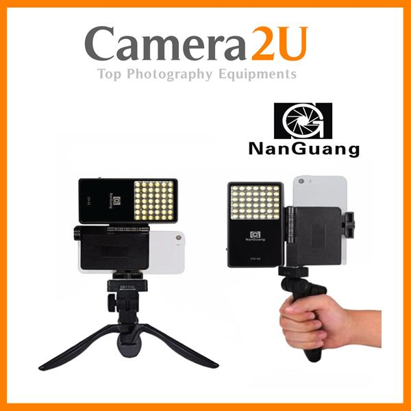 NANGUANG CN-42 2.5W 222LM PORTABLE SELFIE LED LIGHT PANEL LIGHTING