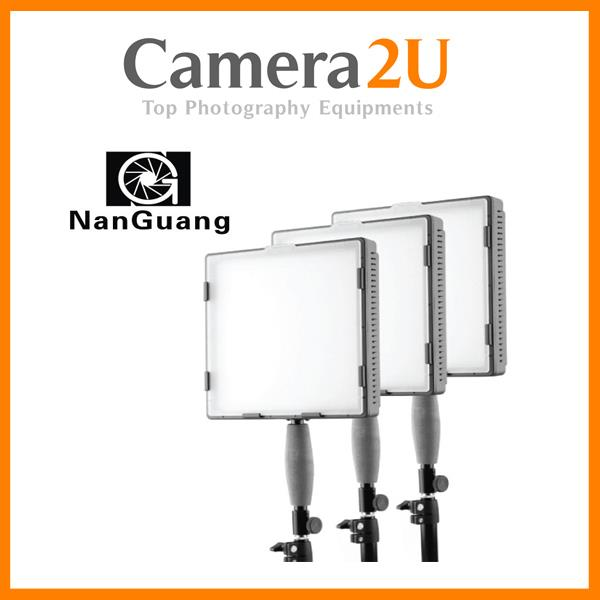 NANGUANG CN-576 VIDEO LIGHT 3-PIECE KIT