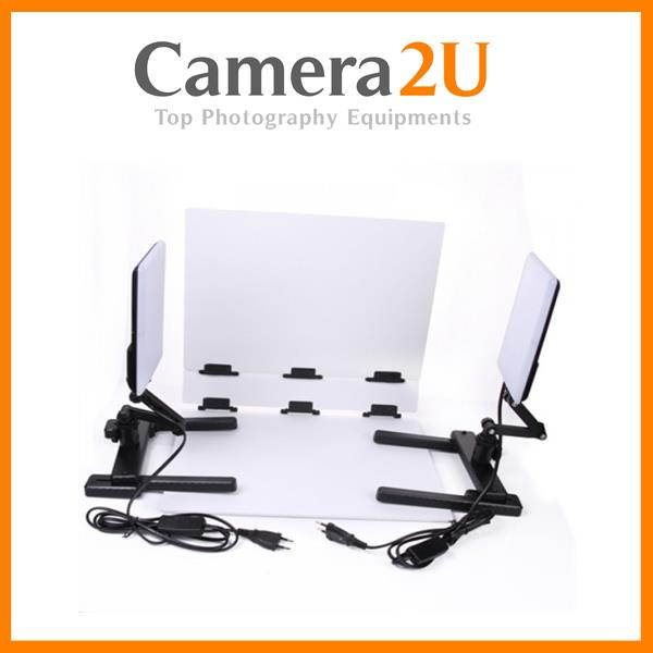 NANGUANG LED PHOTO LIGHT CN-T96 KIT WITH FOLDABLE PHOTO TABLE