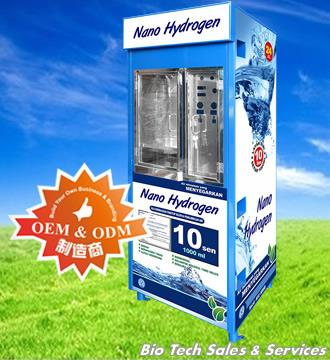 NANO ALKALINE Drinking Water Vending Machine  (NA-VM-CI-1818-C)