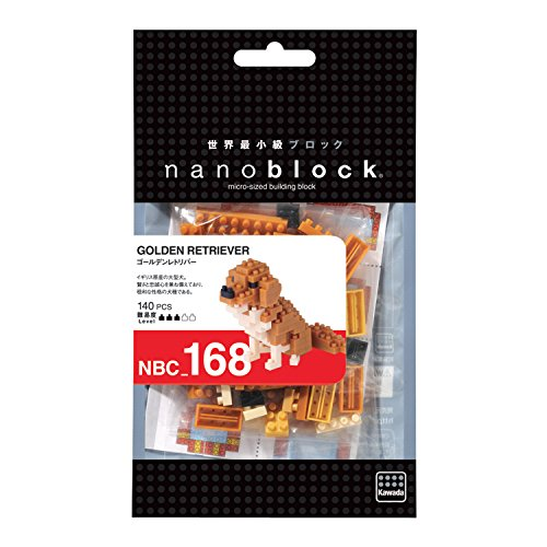 Nanoblock Golden Retriever Building Kit