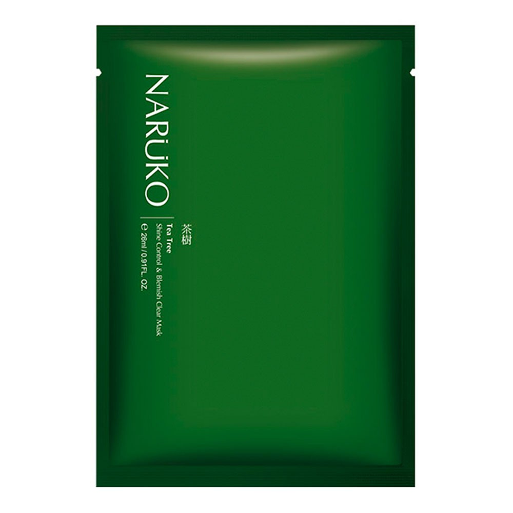 NARUKO Tea Tree Shine Control  & Blemish Clear Mask 26ml