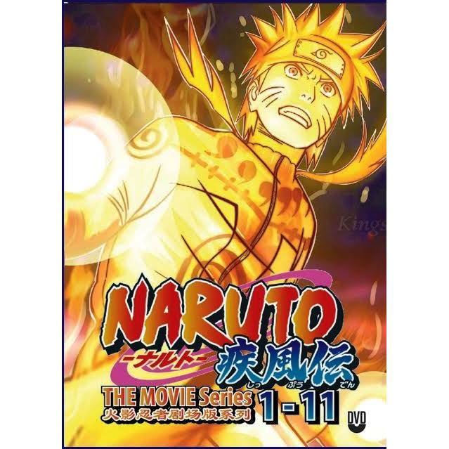 NARUTO SHIPPUDEN The Movies Series 1-11 Anime DVD