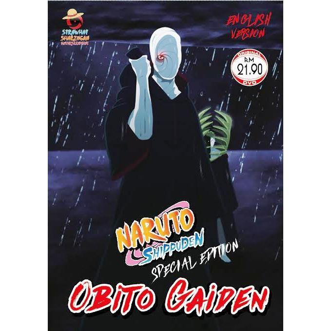 Naruto Shippuden Special Obito Gaiden Anime DVD
