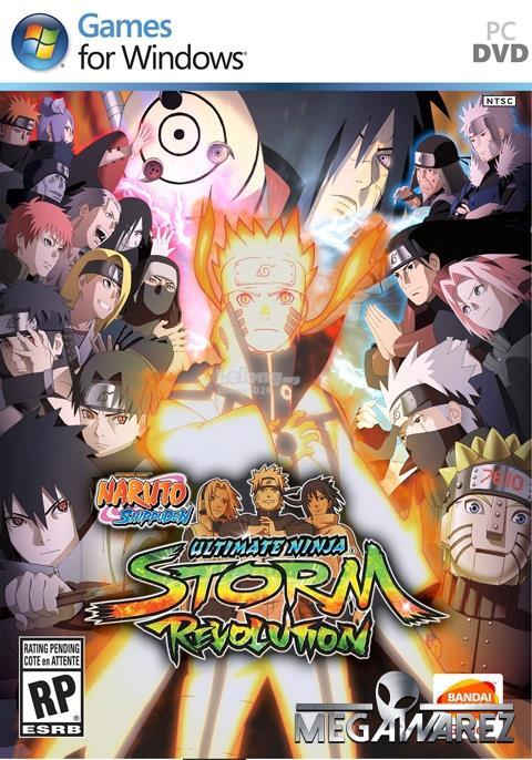 Naruto Shippuden Ultimate Ninja Storm Revolution Main Game & DLC (PC)