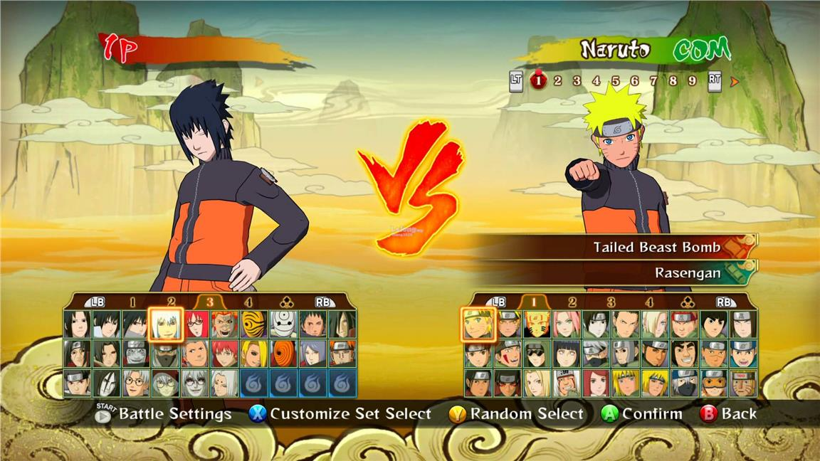 Game Naruto Shippuden Ultimate Ninja Storm 5 | Gameswalls org
