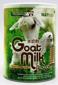 Natfood Goat Milk Powder 400gm