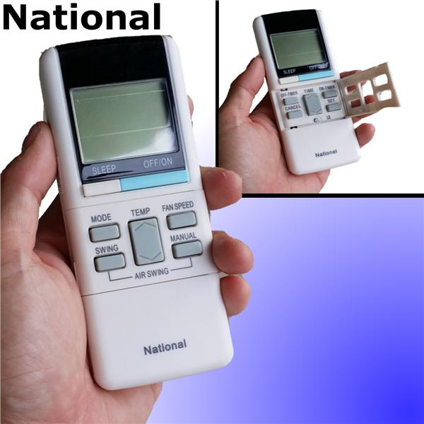 National aircon air cond air conditioner remote control replacement