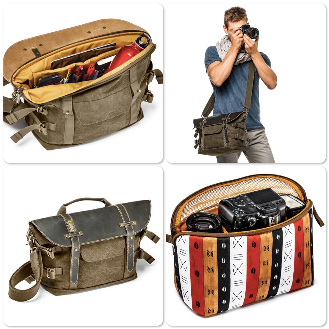 National Geographic NG A2140 Midi Satchel with Medium Pouch for DSLR