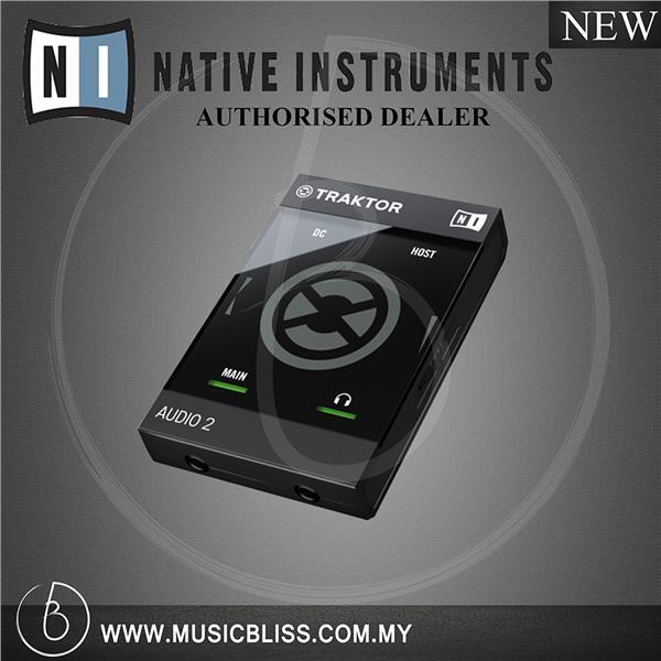 Native Instruments Traktor Audio 2 MK2 USB DJ Audio Interface
