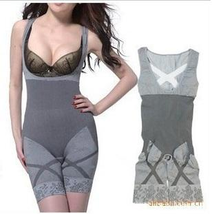 Natural Bamboo Charcoal Slimming body Suit/Corset/100% Quality Confirm. ‹ ›