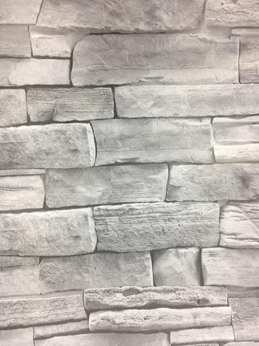 Natural Bricks Design Wallpaper