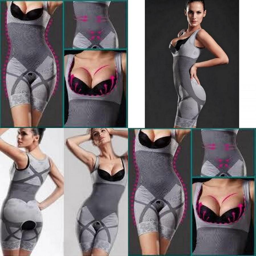 Natural Charcoal Bamboo Slimming Suit. ‹ ›