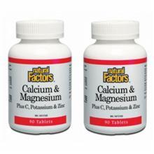 Natural Factors Calcium & Magnesium 2x 90s