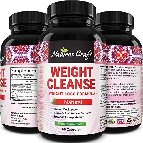 Natural Metabolism Booster for Weight Loss - Green Coffee Bean Extract for Wei