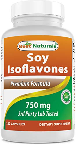 Best Naturals Best Naturals Soy Isoflavones for Women 750 Mg Capsules, 120 Cou
