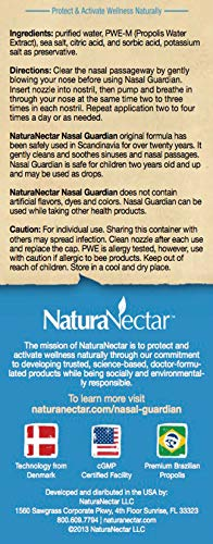 ... NaturaNectar Nasal Guardian Spray, All Natural Saline Nasal Spray  & Sinus