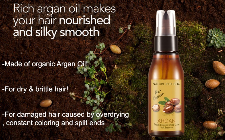 Картинки по запросу nature republic argan essential deep care hair essence