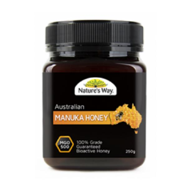 Nature's Way Australian Manuka Honey MGO 500 (250g)