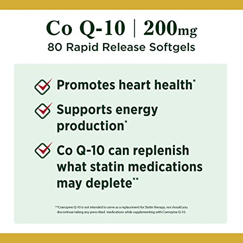 US. Nature's Bounty CoQ10 Pills and Dietary Supplement Supports Cardiovascular