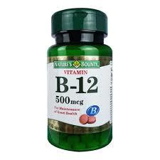 NATURE'S BOUNTY VITAMIN B-12 500MCG 100S