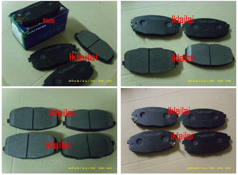 NAZA CITRA/Carens 2 Front Disc Brake Pad [4pcs/set] Made In Korea