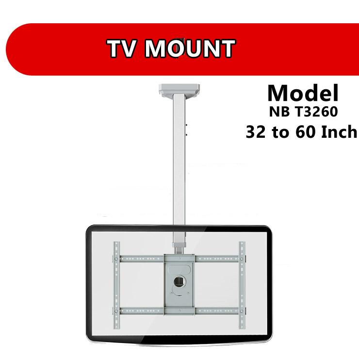 Nb T3260 32 To 60 Inch Tv Swivel Wall Ceiling Mount Bracket Holder