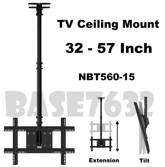 NB T560-15 32 to 57  Inch LCD TV Wall Ceiling Mount Bracket Holder