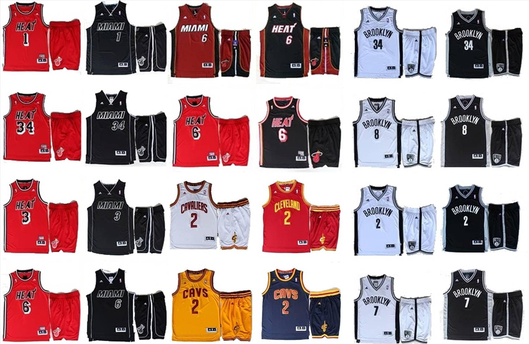 NBA Basketball Jersey with Shorts (end 4/14/2018 3:09 AM)