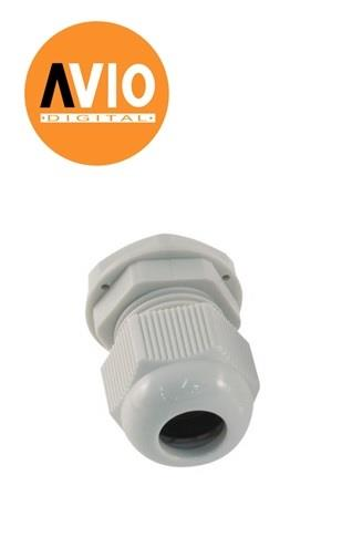 NCG16 PG16 Nylon Cable Gland IP68 Waterproof Socket Joint (5 PCS)