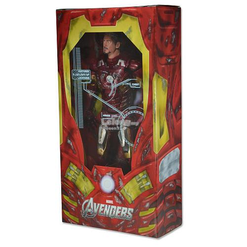 Neca Avengers 1/4 Scale Battle Damaged Iron Man 61238