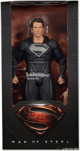 Neca Black Suit Superman 1/4 Scale Figure 61406