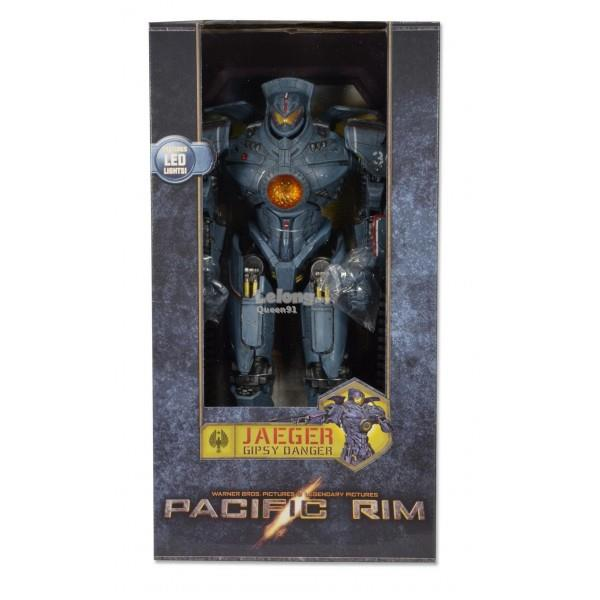 "NECA Pacific Rim 18"" Gipsy Danger Action Figure with LED 31830"