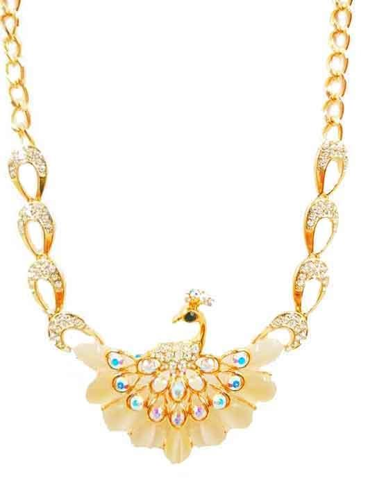 Necklace Peacock Gold