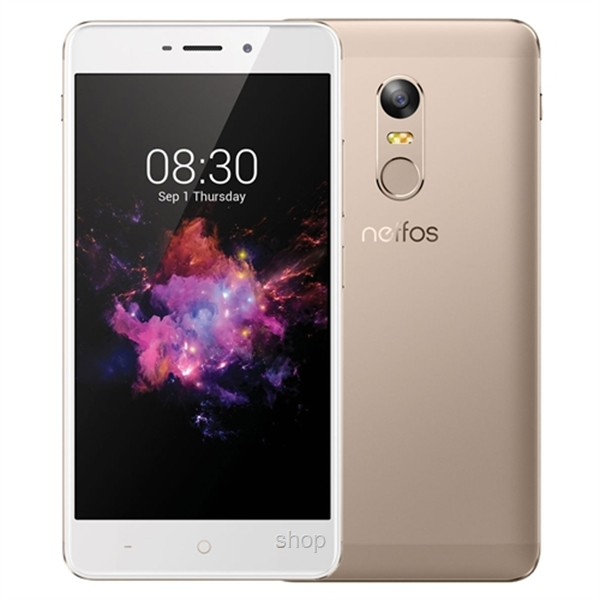 Neffos X1 Max 5.5 Inch [32GB] 3GB RAM 13MP+5MP Smartphone Gold FREE Case + SP