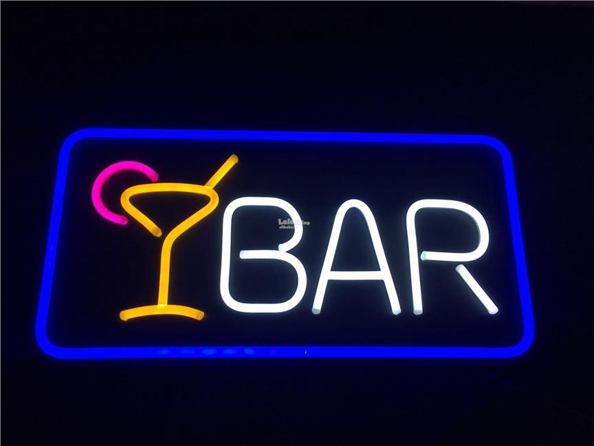 Neon Waterproof LED SignBoard- BAR