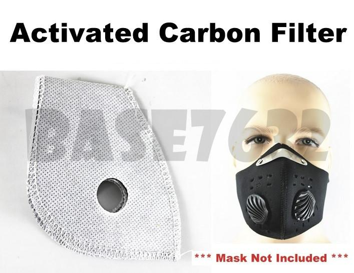 Neoprene Face Mask Motorcycle Bicycle Active Carbon Filter 1791.1