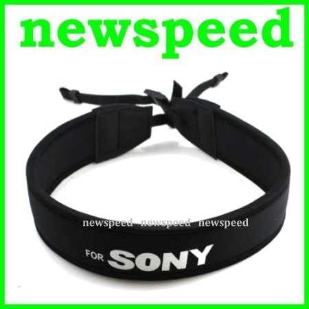 Neoprene Soft Shoulder Neck Strap for Sony DSLR Digital Camera