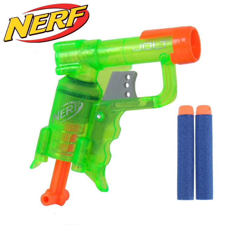 NERF N-STRIKE ELITE JOLT BLASTER (A8063) Clear Green