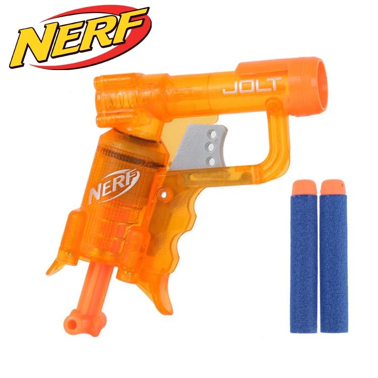 NERF N-STRIKE ELITE JOLT BLASTER (A8063) Clear Orange