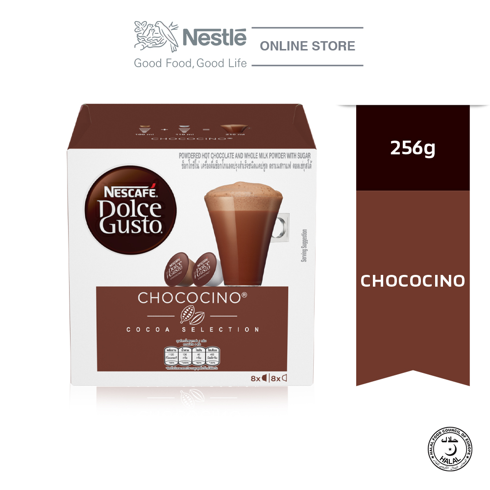 NESCAFE Dolce Gusto Chococino Chocolate 16Caps x 256g
