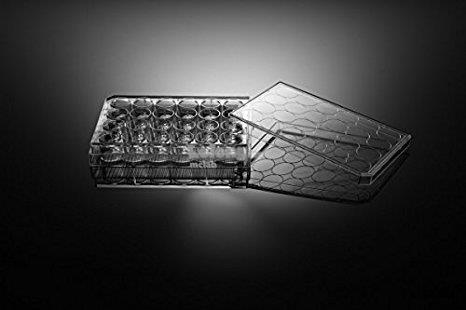 Nest 24 Well Cell Culture Plate, Flat, Treated, Sterile (50pcs/case)