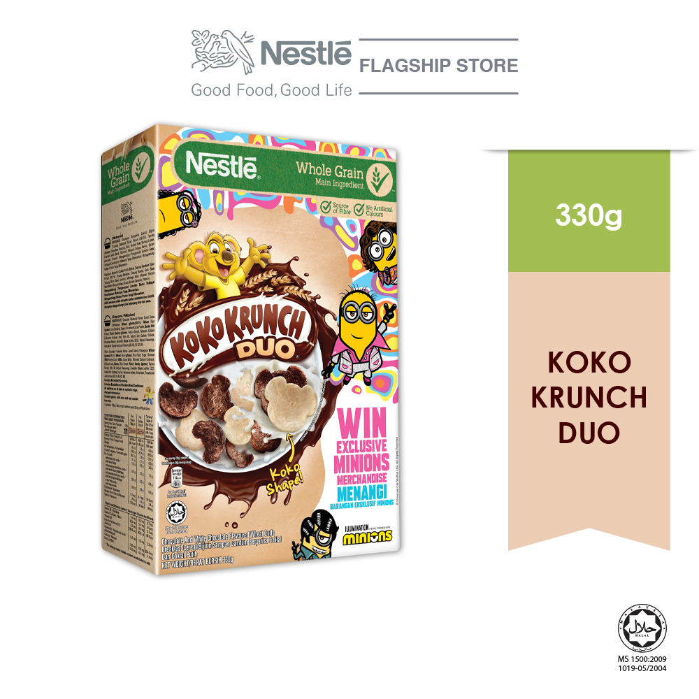 Nestle KOKO KRUNCH Duo 330g MINION Contest