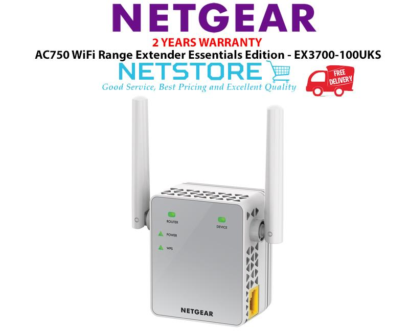 Best Wifi Range Extender 2020 Netgear AC750 WiFi Range Extender   (end 3/20/2020 7:15 PM)