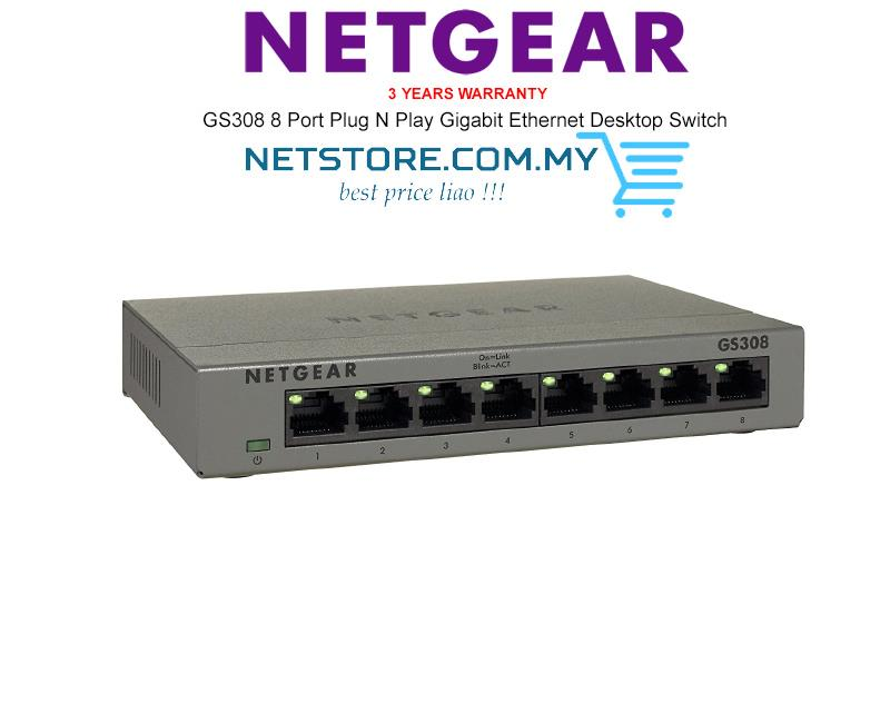 Netgear Gs308 100uks 8 Port Gigabit End 1 4 2018 12 15 Am