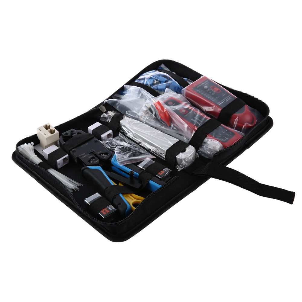 NETWORK COMPUTER MAINTENANCE TOOL KIT CABLE TESTER 200R NETWORK PLIERS